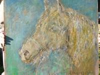 Obraz namalowany na płycie ,55x65 cm,olej ,pastel olejny
