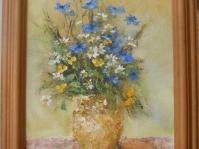 7. ''Kwiatki '' ,35x27 cm,autor Jola Kempa-Małecka