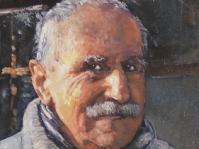 Portret 40x30 obraz olejny w prywatnej kolekcji