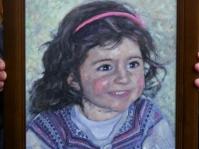 Portret  40x30 cm,olej ,płótno