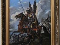 Obraz olejny na płótnie ,60x40 cm ,w kolekcji prywatnej