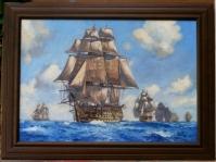 Obraz olejny na płótnie ,60x40cm,w kolekcji prywatnej