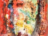 Abstrakcja 23,100x70 cm,płyta ,rama,obraz olejny,akryl ,płyta