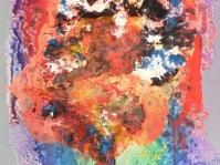 Abstrakcja 6,100x70 cm,płyta ,rama,obraz olejny,akryl ,płyta