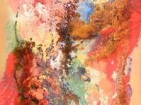 Abstrakcja 7,100x70 cm,płyta ,rama,obraz olejny,akryl ,płyta