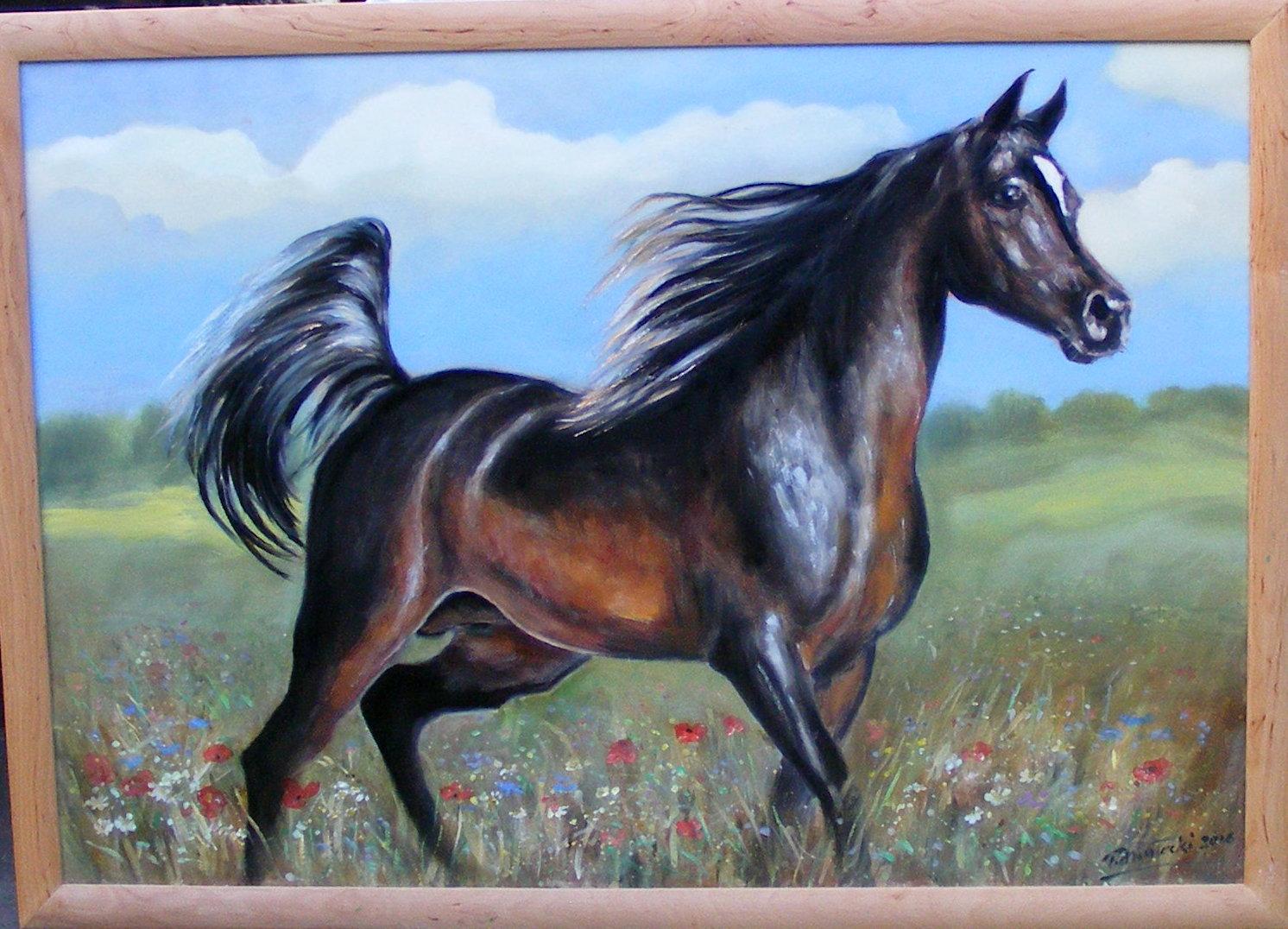 Obrazy Olejne Konie