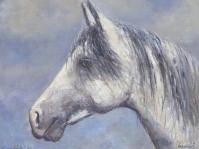 Obraz olejny namalowany na płótnie autor Tadeusz Małecki, format 65x50,obraz w kolekcji prywatnej