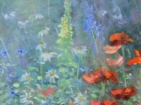 ''Ogród'' fragment obrazu