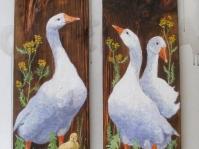 ''Gęsi '' obrazy w kolekcji prywatnej