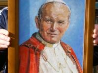Portret namalowany ,format 50x40 cm,autor Tadeusz Małecki