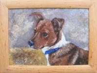 Portret Kreski ,obraz olejny namalowany na płótnie ,format 40x30 cm