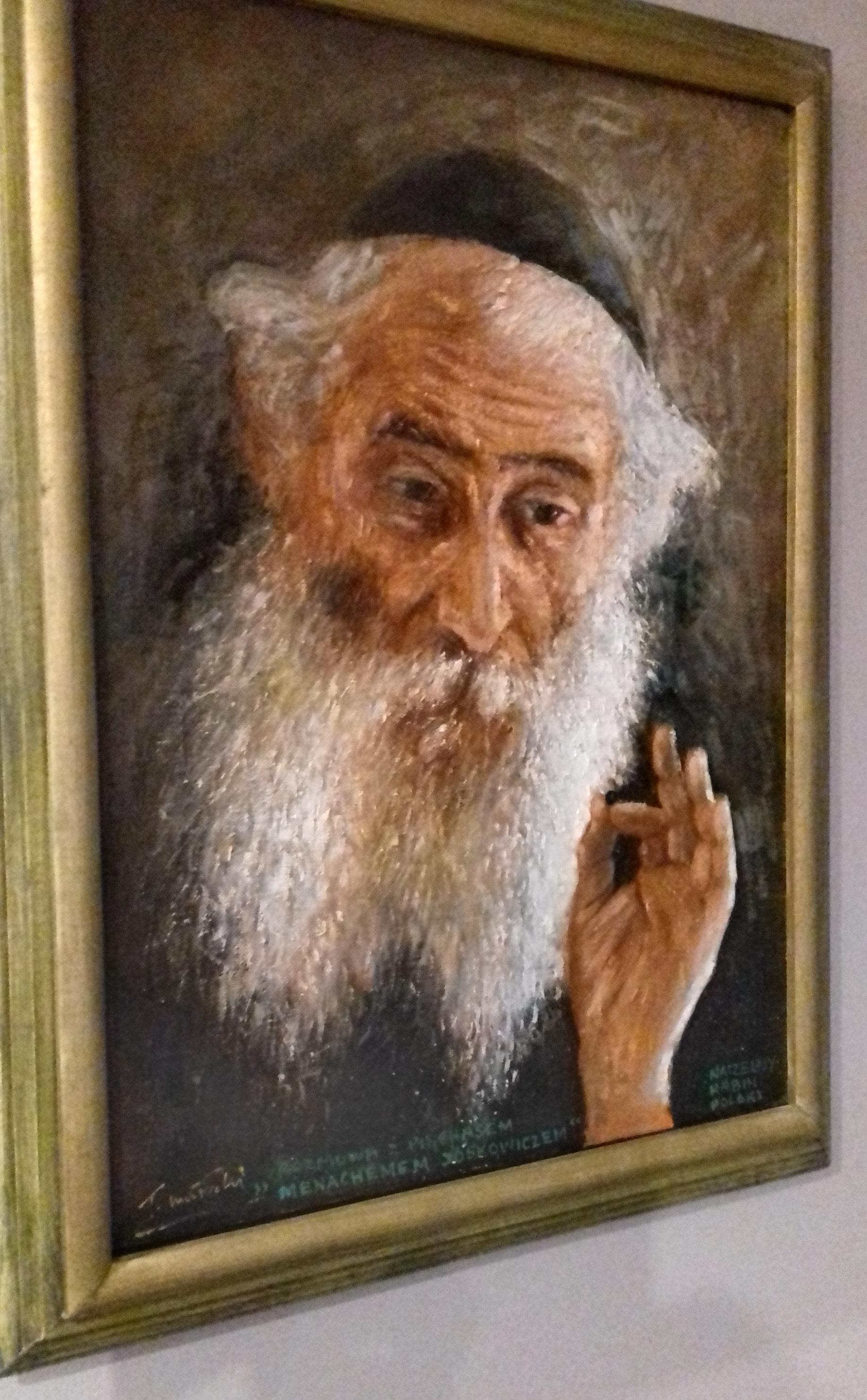 obraz w prywatnej kolekcji p.Marka Cygana